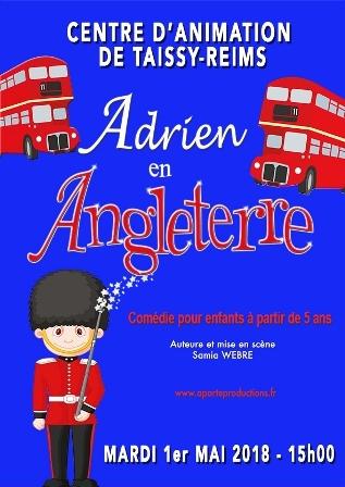 Adrien en Angleterre