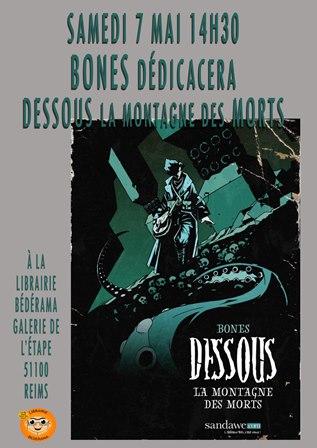 """""""Dessous la montagne des morts""""- Bones (Laurent Bonnelay)"""