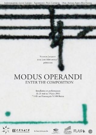 MODUS OPERANDI / enter the composition