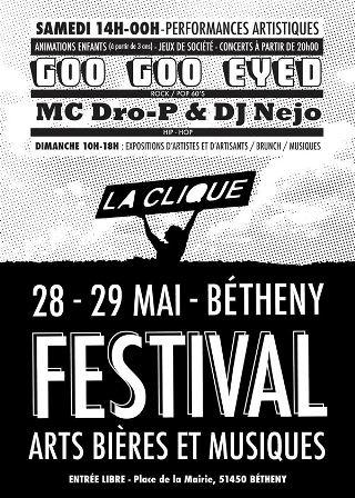 Arts-bières et musiques festival
