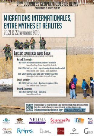 Sixième édition des Journées Géopolitiques de Reims