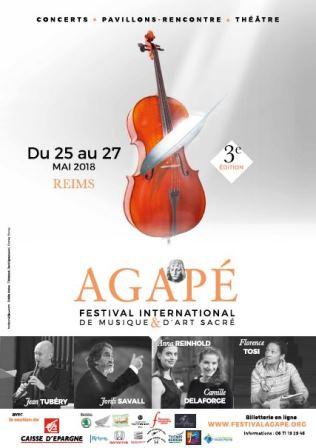 Festival Agapé, 3ème Festival International de Musique et d'Art Sacré