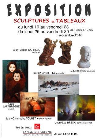Exposition de sculpture et de peinture