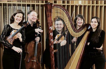 Musique Française : Quintette avec harpe