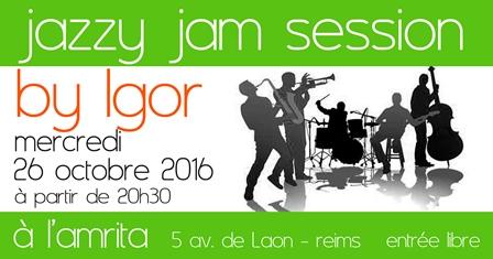 Jazzy jam session by Igor