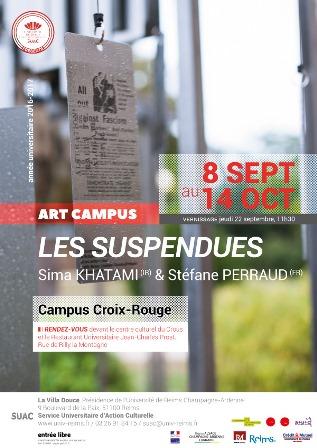 Art Campus / Les suspendues