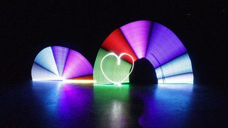 Light Painting Infinity