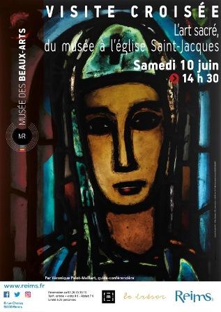 Visite croisée : L'Art sacré du musée à l'église Saint Jacques