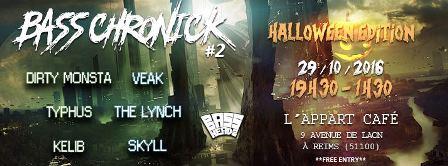 Bass Chronick #2 Halloween Edition