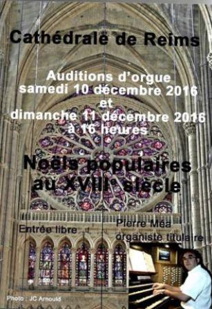 Auditions d'orgue