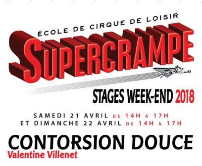 Stage Contorsion Douce encadrement Valentine