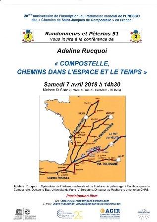 «  Du Chemin de St Jacques au pèlerinage de la vie »