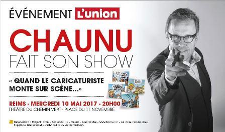 Chaunu fait son show