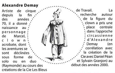 Stage clown par Alexandre Demay
