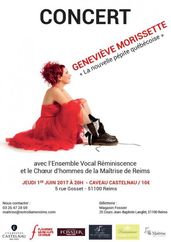 Geneviève Morissette en concert