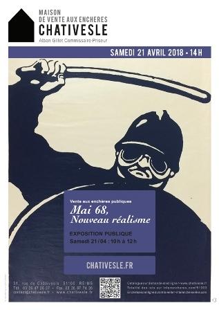 l'exposition vente sur Mai 68