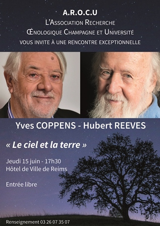 Conférence d'Hubert Reeves et Yves Coppens