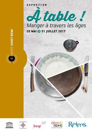 """Visite ludique de l'exposition """"À Table ! Manger à travers les âges"""""""