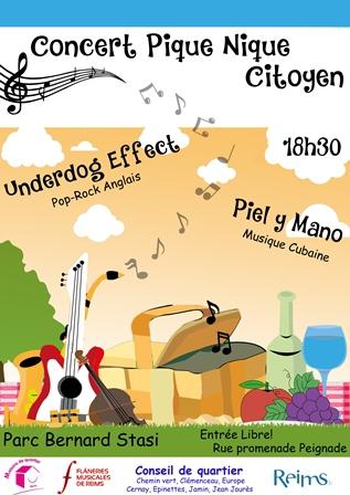 Concert Pique Nique Citoyen