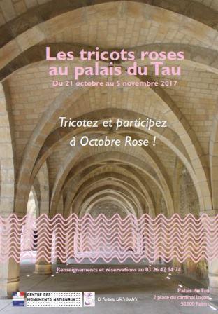 Octobre rose au palais du Tau