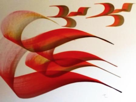 Accueil en résidence d'artiste de Simoneif Calligraphe