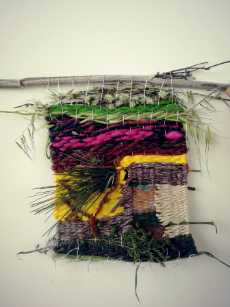 « Tissage végétal »  avec Julie Martin, Designer végétal