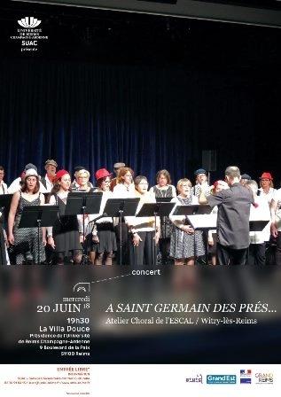 A Saint Germain des Prés….