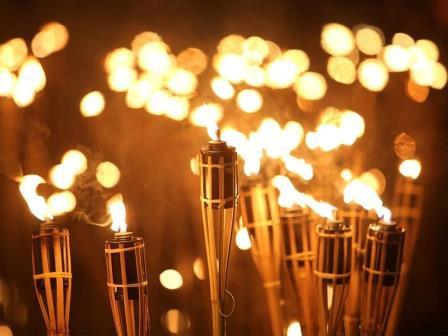 Un noël à Reims : balade nocturne au flambeaux