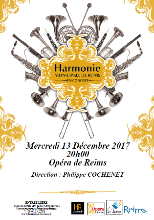 L'Harmonie Municipale de Reims invite L'accordéon club Châlonnais