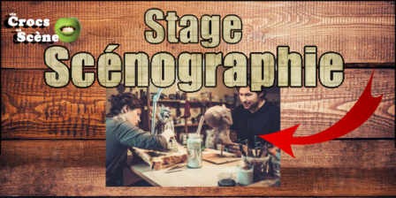 Stage scénographie