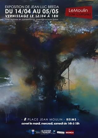 Exposition de l'artiste Jean Luc Breda