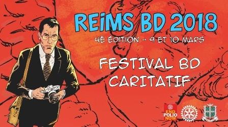 Reims BD 2018 : L'évènement BD caritatif