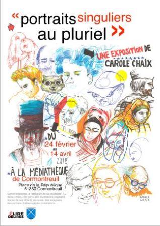Portraits singuliers au pluriel de Carole Chaix