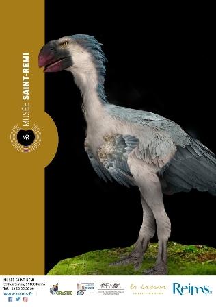 Gastornis, un oiseau géant dans la campagne