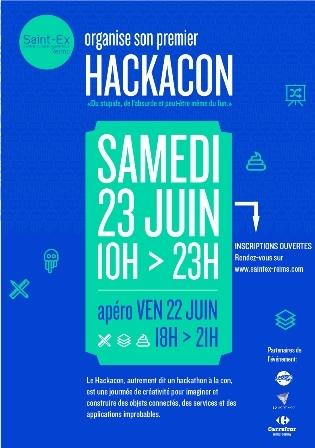 HACKACON - autrement dit le Hackathon à la con !