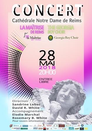 La Maîtrise de Reims et le Georgia Boy Choir (Atlanta - USA)