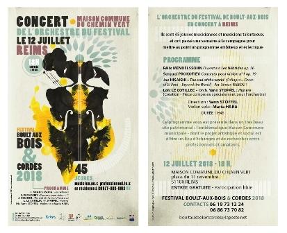 Orchestre du Festival de Boult-aux-Bois