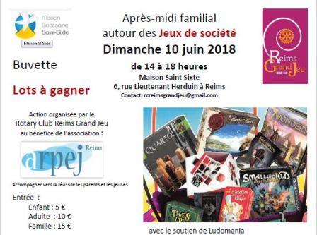 Reims Grand Jeu : après-midi familial
