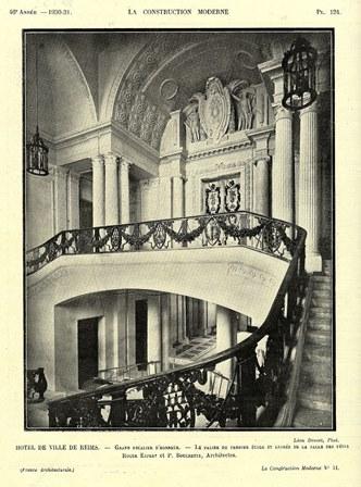 L'Hôtel de Ville de Reims : un chef-d'oeuvre restauré et réinventé