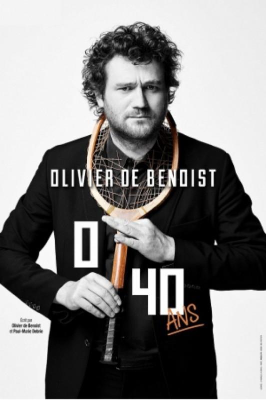 Olivier de Benoist, 0/40 ans