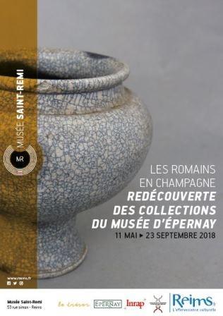 Midi au musée : Visite de l'exposition : Les Romains en Champagne