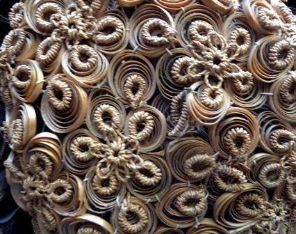 Petits panneaux décoratifs en papier roule (Technique du Quilling)
