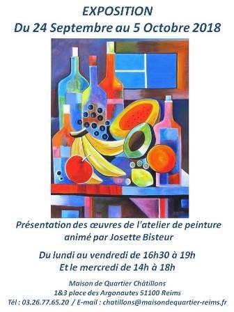 Exposition Josette Bisteur