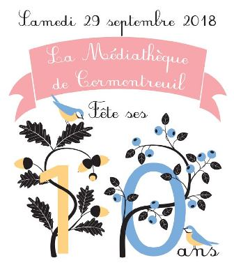 La médiathèque de Cormontreuil fête ses 10 ans