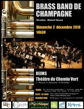 Concert du Brass Band de Champagne
