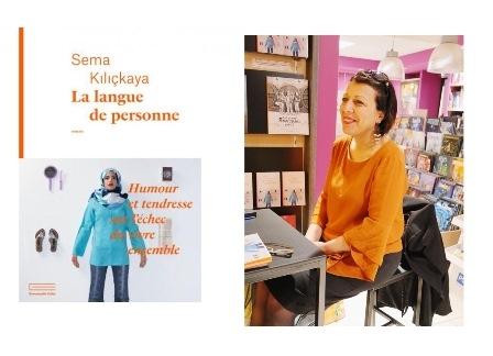 Sema Kılıçkaya - La langue de personne - Editions Collas, avril 2018