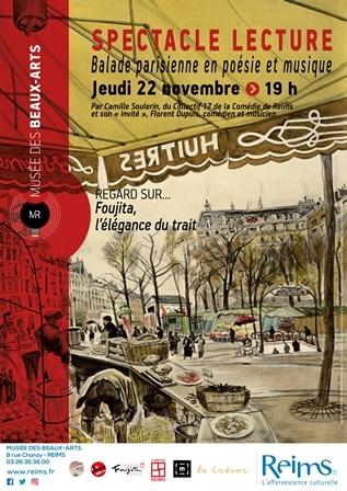 Balade parisienne en poésie et musique
