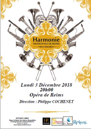 Concert de l'Harmonie Municipale de Reims