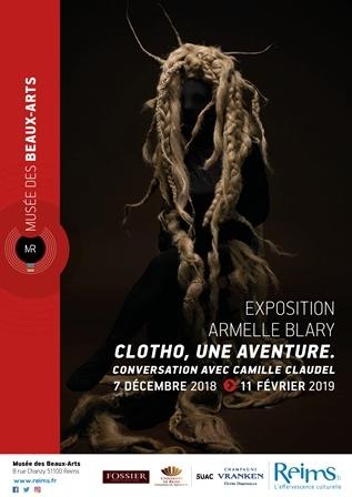 Clotho, une aventure. Conversation avec Camille Claudel par Armelle Blary.