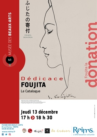 Dédicace Foujita - Le Catalogue